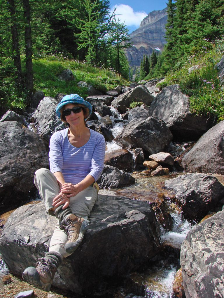 a brief respite on a hike in the mountains aug 2010