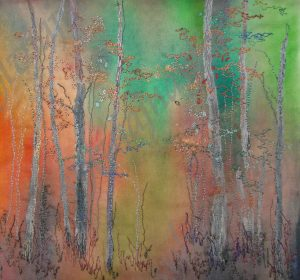 fall bursts into colour